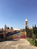 Hidden art on top of a secret rooftop terrace