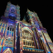 Westminster Abbey goes psychedelic