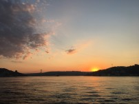 Sunrise on the bootiful Bosphorus